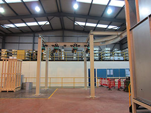 Spraybooth Facility For Firth Rixson Ltd Ecclestone, Sheffield