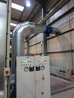 Dynaclean Spraybooths NDT Facility For Firth Rixson Ltd Ecclestone, Sheffield