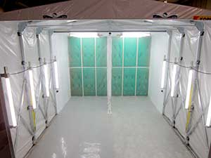 Paint Spray Booths South Wales Dry Filter Spray Booth